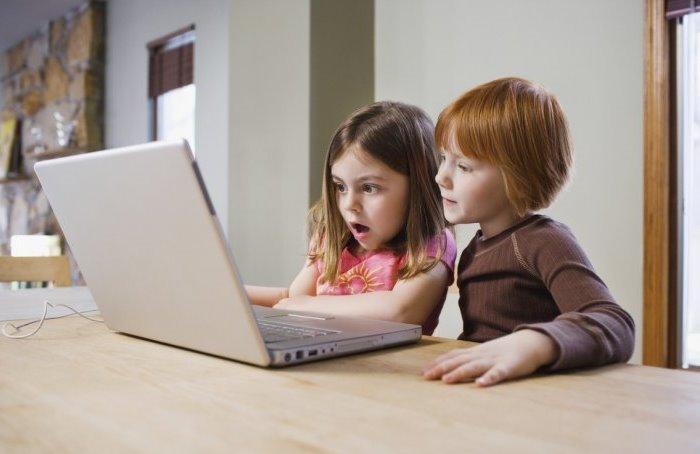 niños españoles e internet