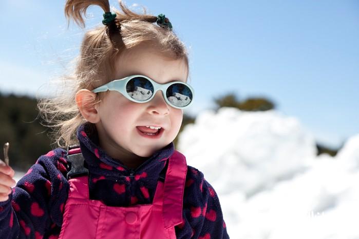 gafas y proteccion solar nieve