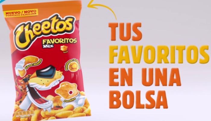 nuevos cheetos 4 sabores