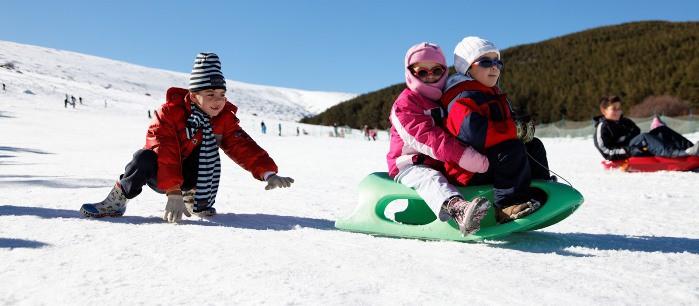 proteccion solar y gafas niños nieve