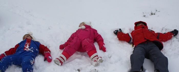 ropa ideal para los peques en la nieve