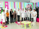 El Hospital Sant Joan de Reus instala una zona de juegos para niños con diabetes