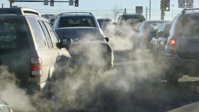 contaminacion trafico