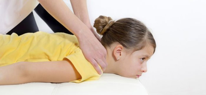 informe dolor espalda en niños
