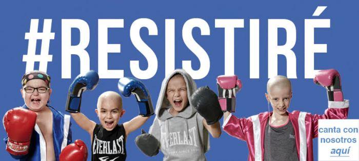 cancion resistire niños cancer