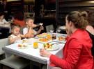 Descuentos en un restaurante por tener niños bien educados