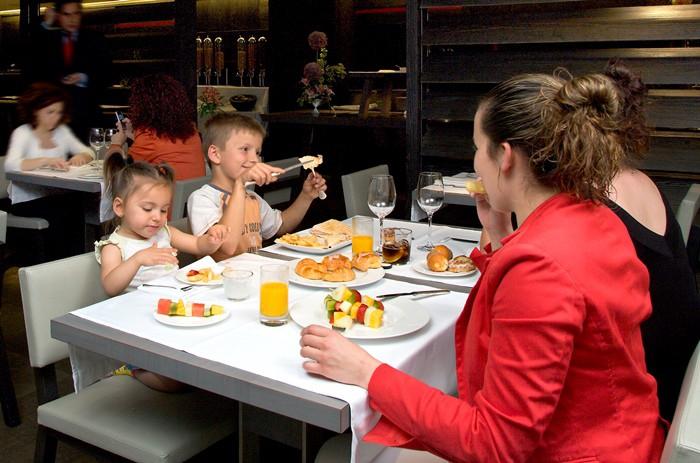 restaurante y niños