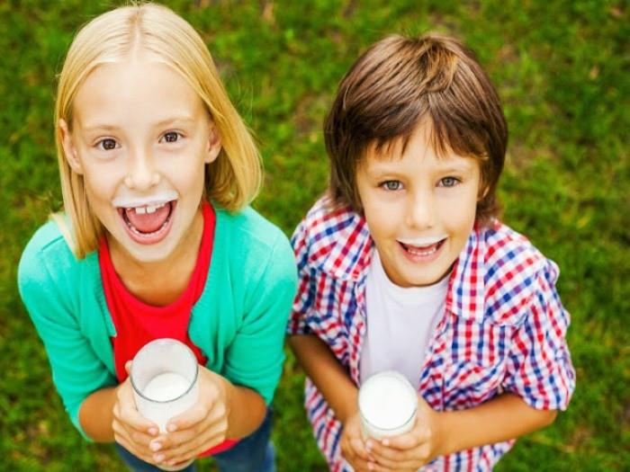Casting infantil en Pamplona para promocionar leche