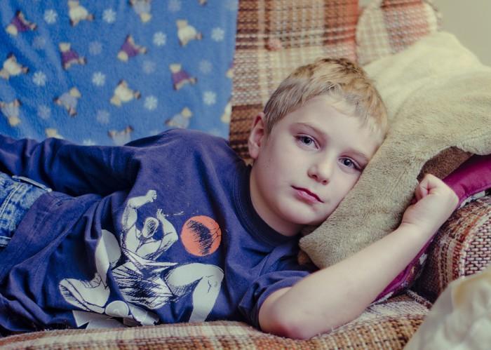 Algunas enfermedades son típicas de la infancia