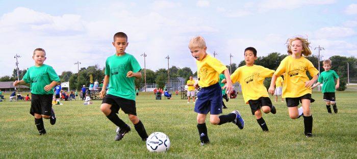 niños y actividad fisica