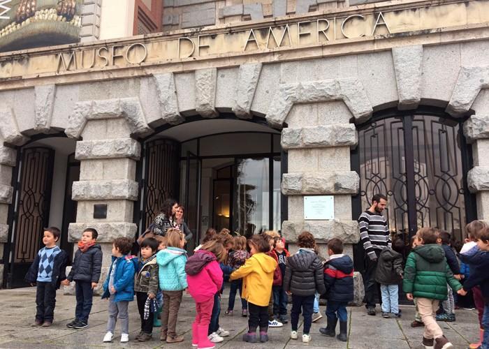 Museo de America con niños