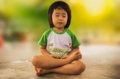 Meditación en niños: sus beneficios