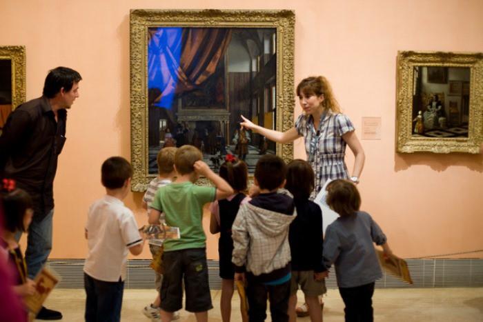 Museo con niños
