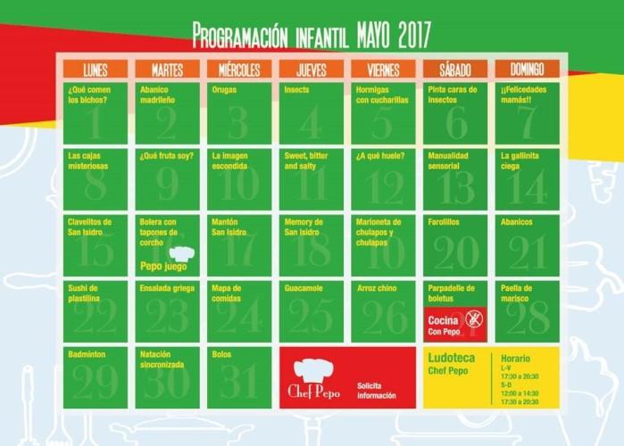programacion mayo