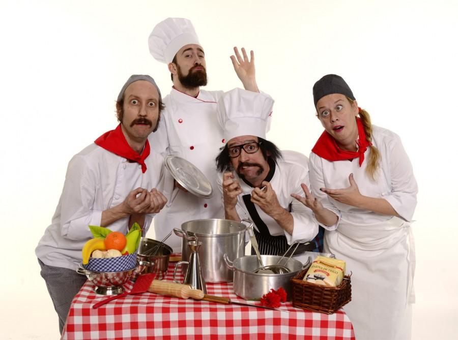 Chefs teatro infantil