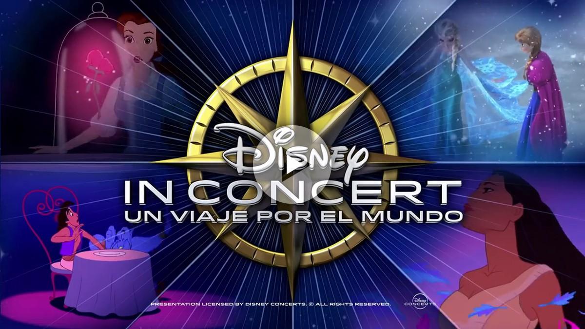 Disney in Concert un viaje por el mundo