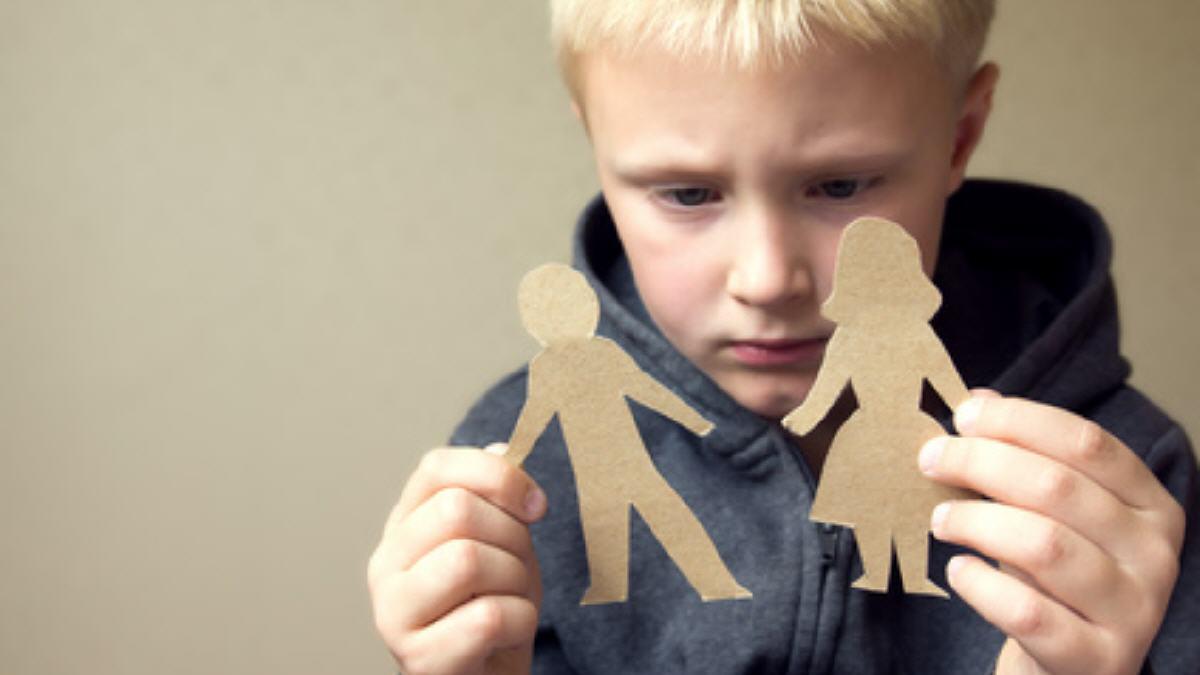 Divorcio y problemas niños