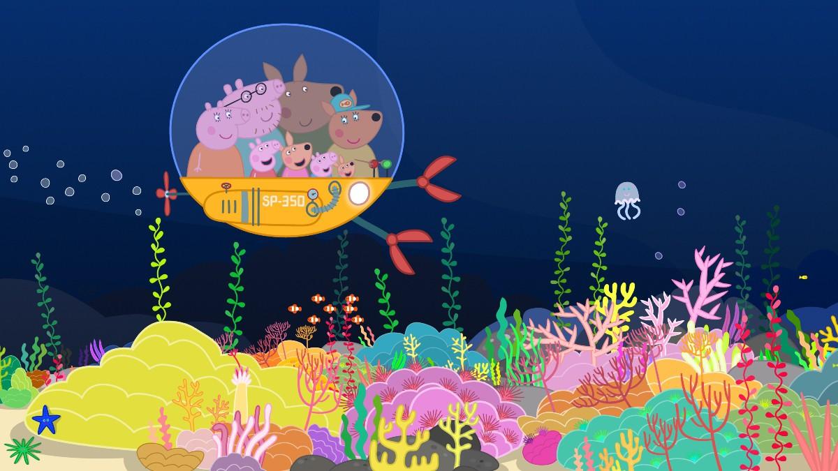 Peppa Pig en el océano