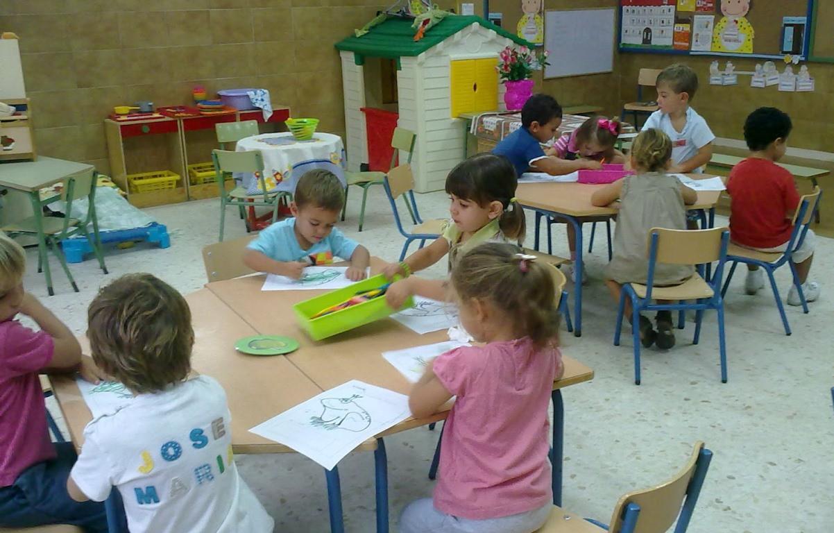 Niños en preescolar