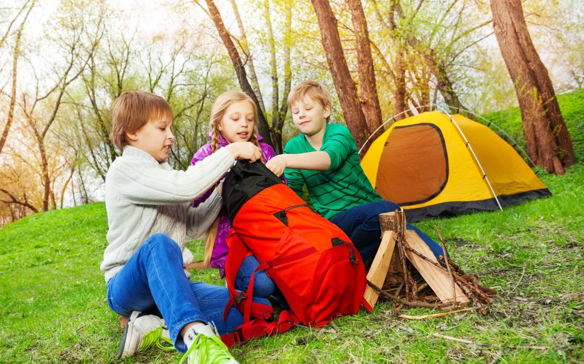 Preparando el campamento de verano