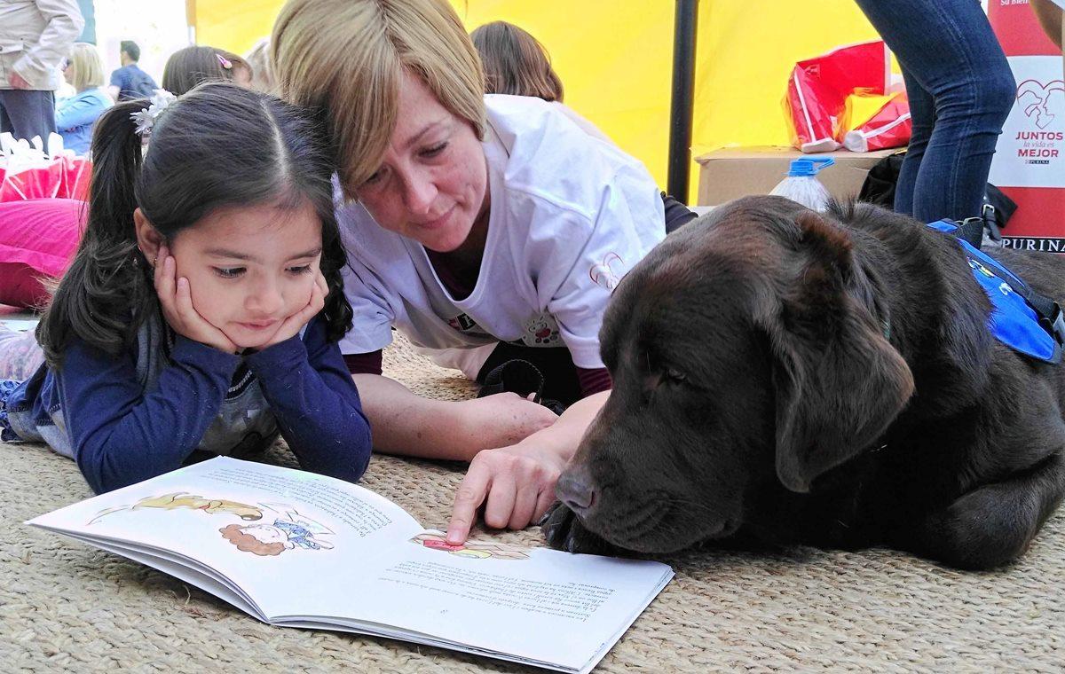 taller lectura con perro