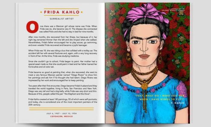 cuentos de buenas noches para niñas rebeldes Frida