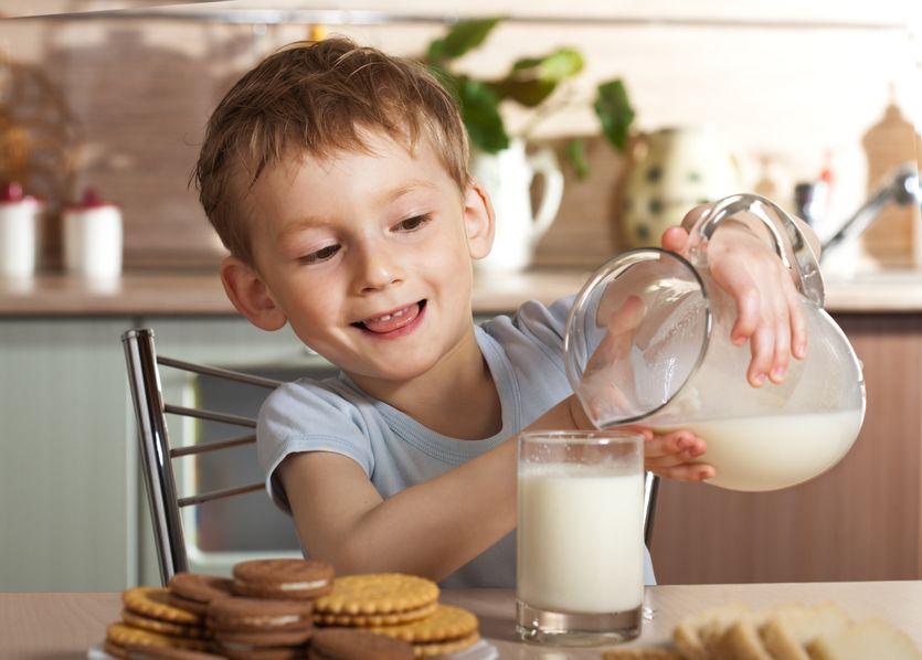 Nutrición infantil: Alimentos ricos en calcio