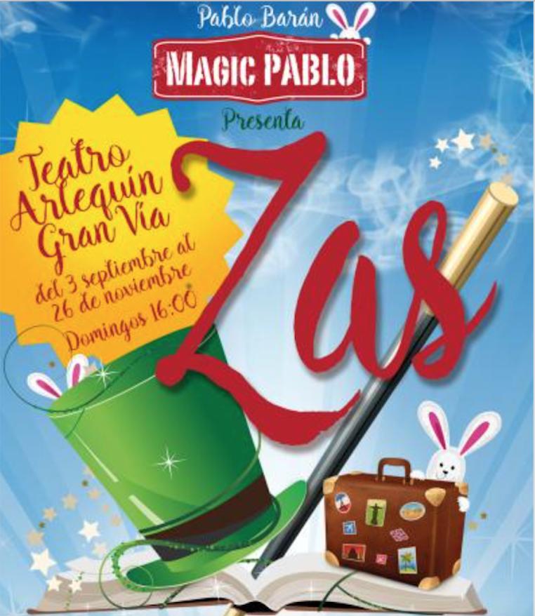 Llega a Madrid el espectáculo de magia y danza Zas!