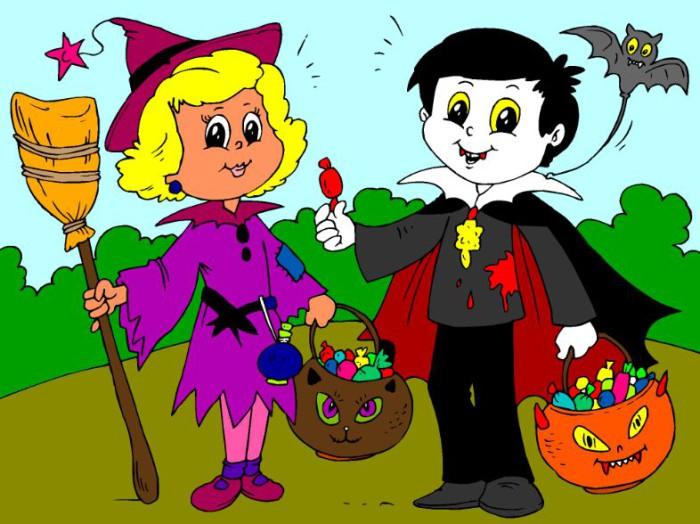 chistes para los niños en halloween