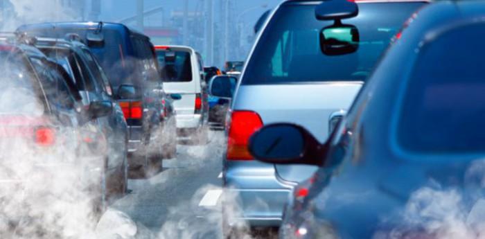 contaminacion de trafico