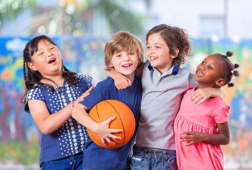 Niños con buena condición física, más materia gris en el cerebro