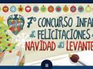Concurso infantil de felicitaciones navideñas del Levante UD