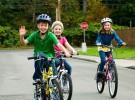 Niños en bicicleta: medidas de seguridad
