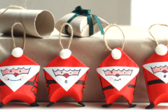 Manualidades infantiles: Papá Noel