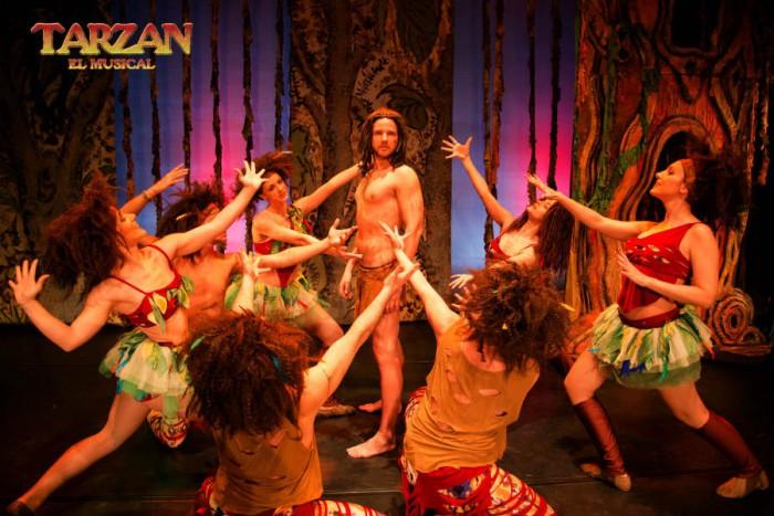 Tarzán el Musical en Madrid