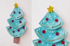 Manualidades infantiles: Árboles de Navidad