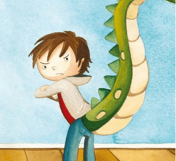 libro: la cola de dragon
