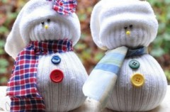 Manualidades infantiles: Muñeco de Nieve
