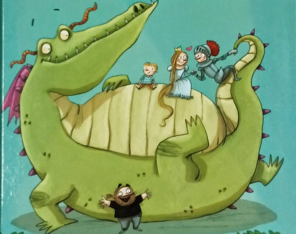 Lectura recomendada de la semana: Dragustín, un dragón de cine