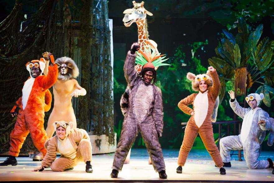 Madagascar, el Musical en vivo