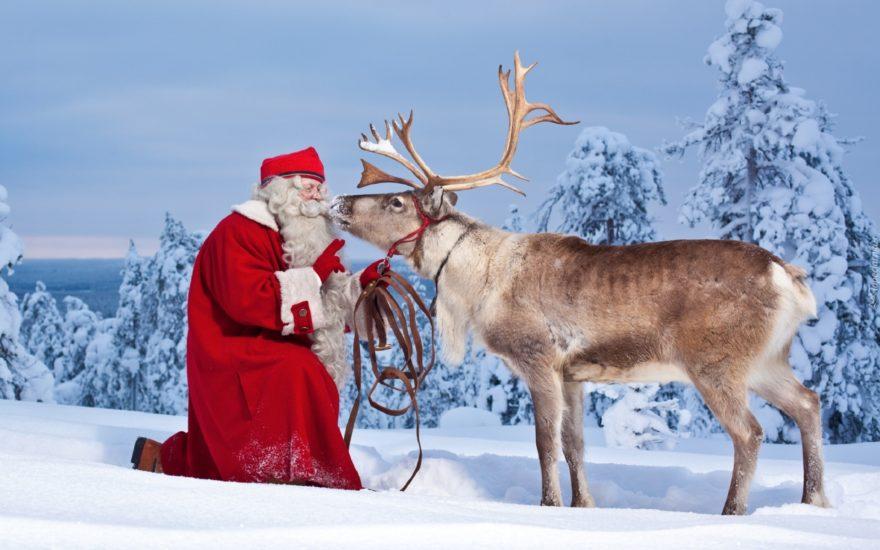 Santa Claus Reno Nieve