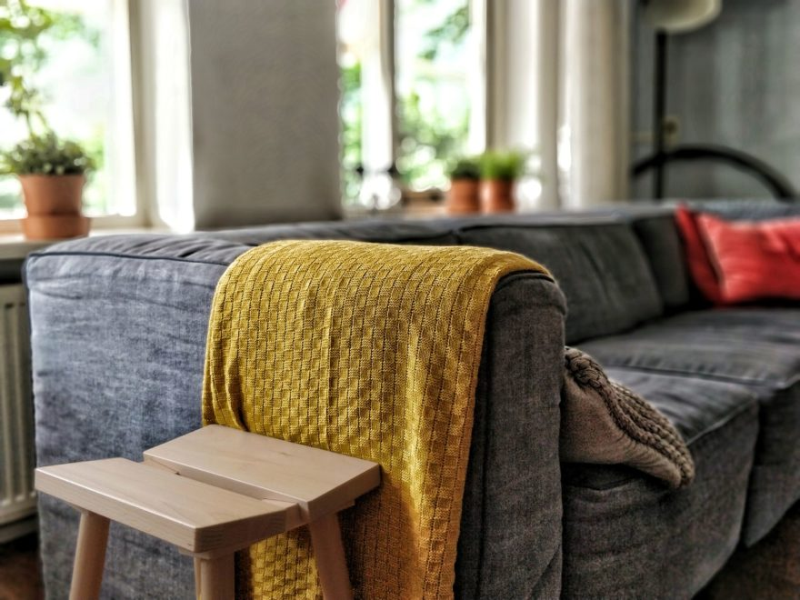 Sofa Para Hogar Con Ninos