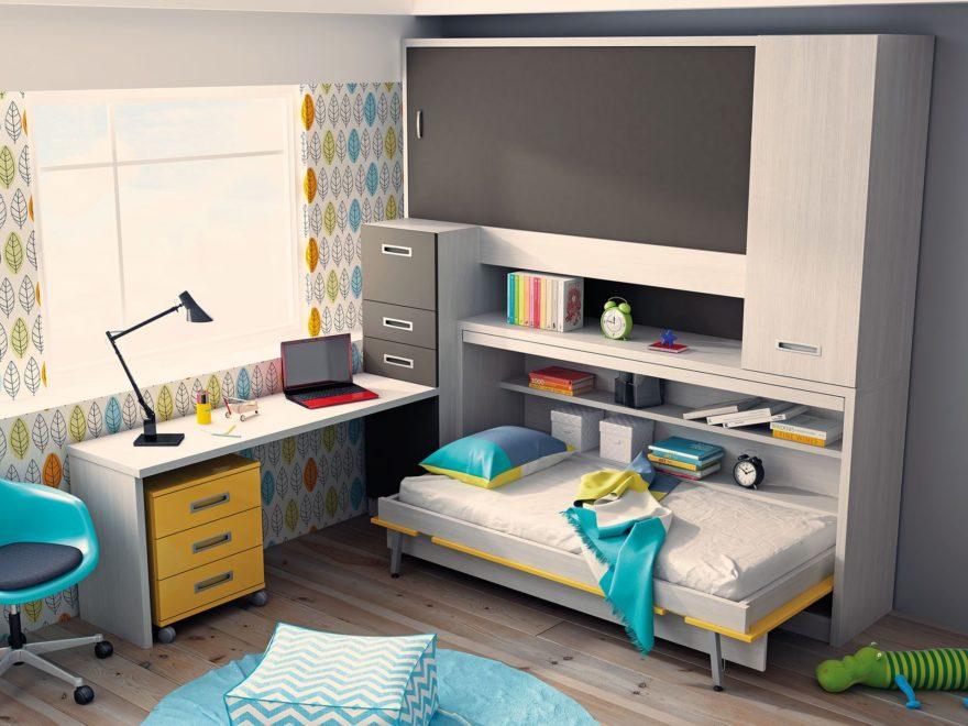 Camas Abatibles Dormitorio Infantil 2