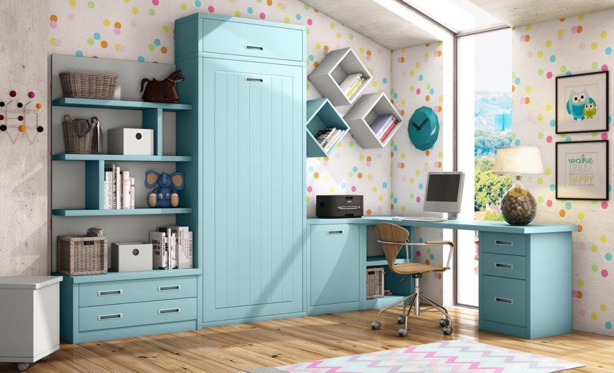 Camas Abatibles Dormitorio Infantil 4