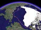 El satélite no miente, el ártico se derrite