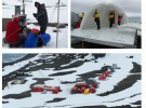 Científicos españoles estudian el cambio climático global desde la Antártida