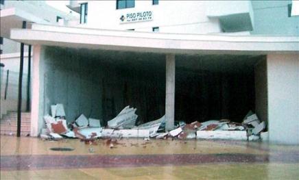 Un tornado pasó por Málaga