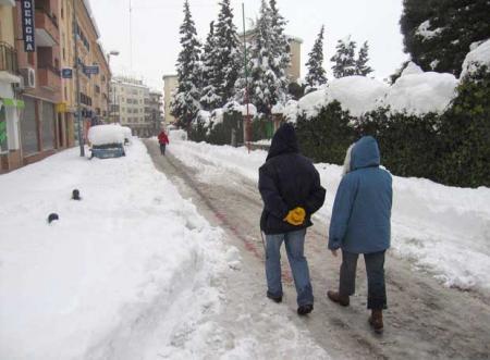 15 comunidades en alerta por nieve, lluvia y viento