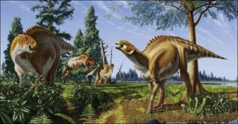 hadriosauro