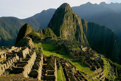 Las ruinas de Macchu Picchu